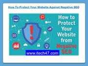 How To Protect Your Website Against Negative SEO