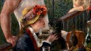 Art in Detail_Luncheon of the Boating Party by RENOIR, Pierre-Auguste