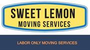 Labor Only Moving Services -Sweet Lemon Moving Services