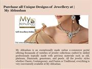 Online shopping for Jewellery | My Abhushan