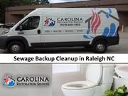 Sewage Backup Cleanup in Raleigh NC