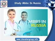 MBBS Admission in Russia 2018 | Chevalier Education Consultancy