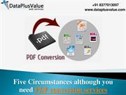 PDF Conversion - Functions and Benefits of PDF Conversion