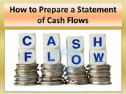 How to Prepare a Statement of Cash Flows