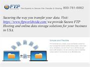 ftp - Secure ftp