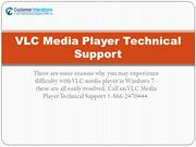 VLC Media Player Support Phone Number
