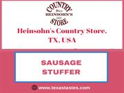 Sausage Stuffer for sale in Texas-Buy in best price