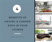Four Benefits of Having a Corner Sofa in Your Lounge