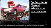 Car Recycling & Disposal In Melbourne