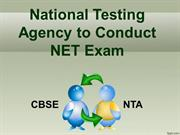NTA to Conduct UGC NET Exam