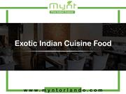 Best Lunch Place in Winter Park | Indian Weekend Lunch Buffet