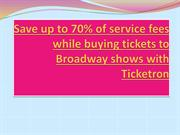 Tickets to Broadway Shows | Broadway Tickets NYC