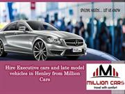 Hire Executive cars and late model vehicles in Henley from Million Car