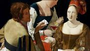 Art in Detail_Cardsharps and Fortune Tellers by Caravaggio and La Tour