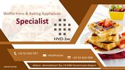 Waffle Irons & Baking Appliances - Specialist