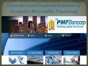 Concepts and Implementations of Accounts Receivable Financing