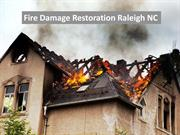 Fire Damage Restoration Raleigh NC