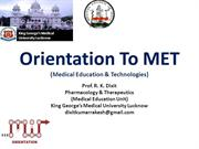 Necessity of Medical Education Technologies and Teacher Training