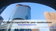 5D BIM is important for your construction-MagnasoftBIM