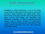 Tensile Structure in Mumbai , Tensile Fabric Structure Manufacturer
