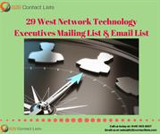 29 West Network Technology Executives Mailing Lists