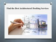 Find the Best Architectural Drafting Services
