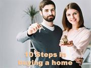 10 Steps in buying a home