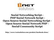 Social Networking Script - PHP Social Network Script - Open Source Soc
