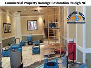 Commercial Property Damage Restoration Raleigh NC