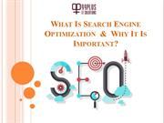 Why Search Engine Optimization Is Important for Small Business