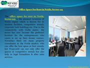 Premium Fully Furnished Office Space for Rent in Noida