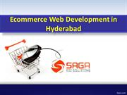 Ecommerce Web development in Hyderabad, Ecommerce Web  development