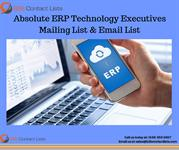 Absolute ERP Technology Executives Mailing Lists