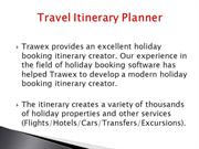 Travel Itinerary Planner