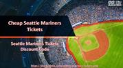 Seattle Mariners Match Tickets Discount Coupon