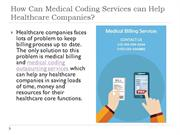 Medical Coding outsourcing Services at Low-Cost | SSR TECHVISION