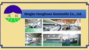 Take Geotextile Drainage Fabric from Ningbo Honghuan Geotextile