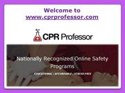 Life Saver With CPR Certification Program