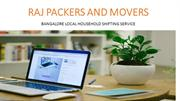 Raj Packers and Movers