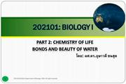Lecture 02-03-chemistry of life