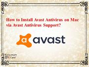 How to Install Avast Antivirus on Mac via Avast Antivirus Support