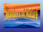 Wonders of Nature