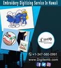 Embroidery Digitizing Service In Hawaii
