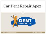 Car Dent Repair Apex