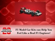 F1 Model Car Kits can Help You Feel Like a Real F1 Engineer