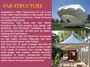 Tensile Structure in Noida | Tensile Fabric Structure Manufacturer