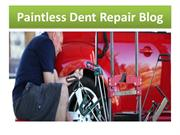 Paintless Dent Repair Blog