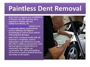Paintless Dent Removal a