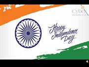 Happy 72nd Independence Day from Cybex Exim Solutions