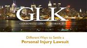 Different Ways to Settle a Personal Injury Lawsuit
